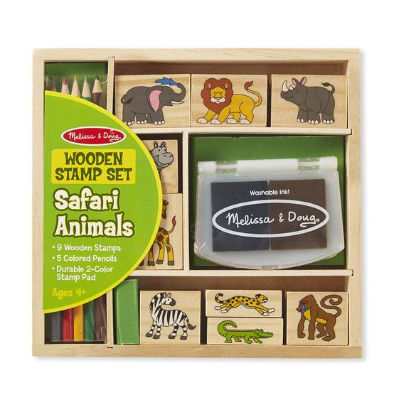 Stamp Set - Safari Animals