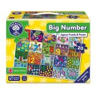 Big Number Jigsaw