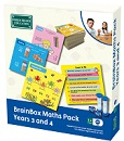 Brain Box Maths Pack Years 3-4