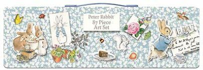 87 Piece Art Set - Peter Rabbit