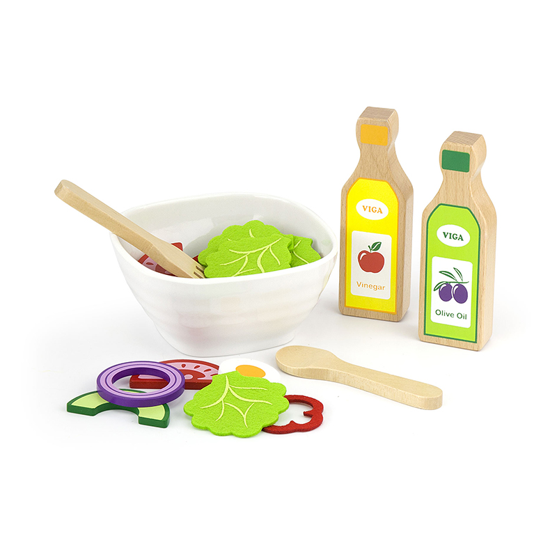 Salad Play Set - w/Recipe-