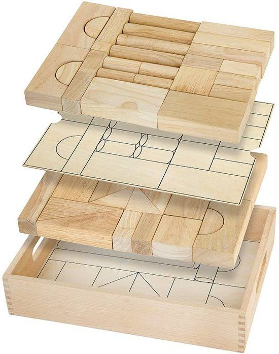 Architectural Block Set - 46 pcs