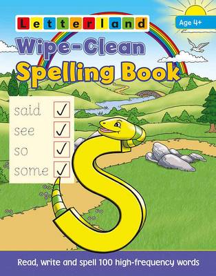 Wipe Clean: Spelling Book