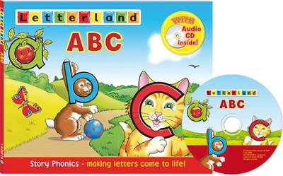 Letterland ABC Book + CD