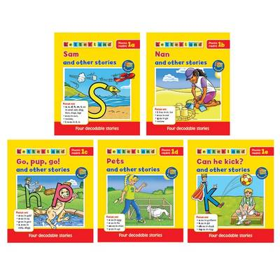 Phonics Readers Set Level 2
