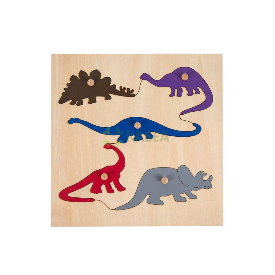 First Simple Puzzle-Dinosaur
