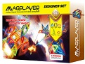Magplayer: Colorful Shapes (62-piece set)