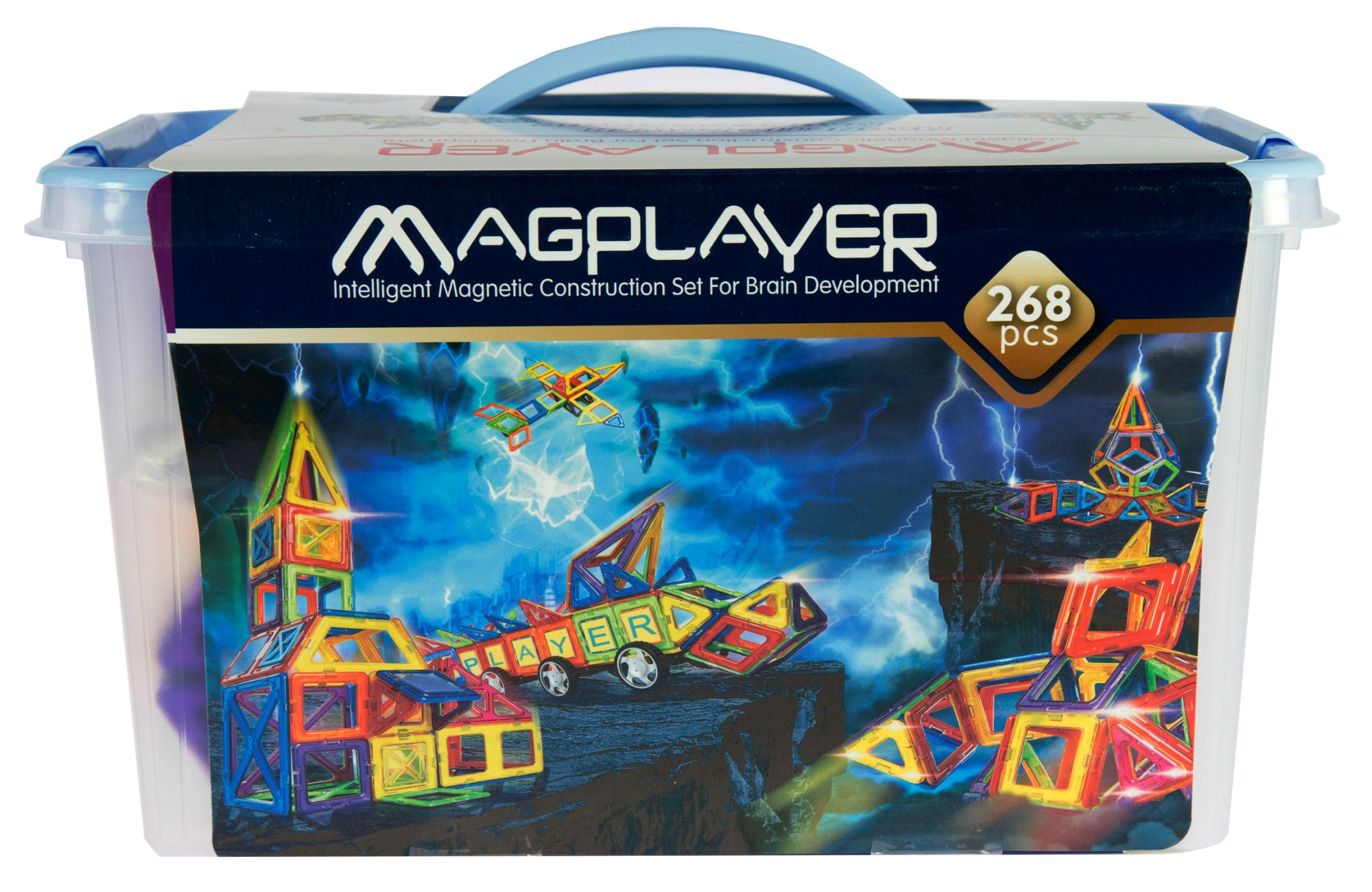 Magplayer Transformers Animated Toys (268-piece set)